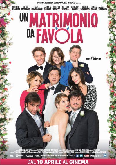 Zűrös olasz esküvő – Plakát