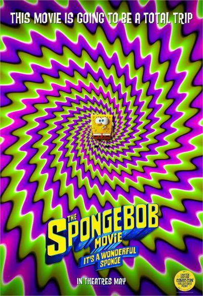 The SpongeBob Movie: It's a Wonderful Sponge – Plakát