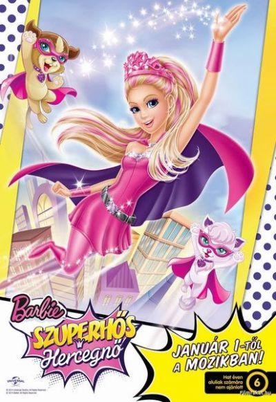 Barbie: Szuperhős hercegnő – Plakát