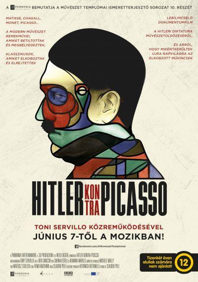 A művészet templomai: Hitler kontra Picasso – Plakát