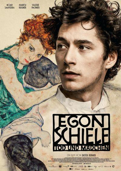 Egon Schiele: A halál és a lányka – Plakát