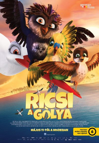 Ricsi a gólya – Plakát