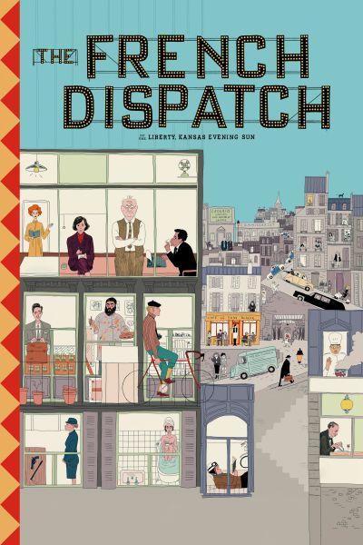 The French Dispatch – Plakát