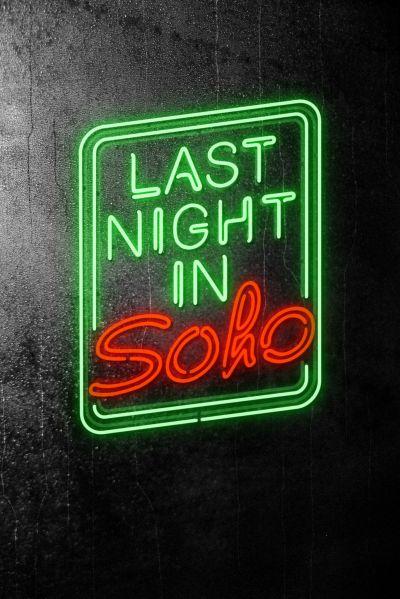 Last Night in Soho – Plakát