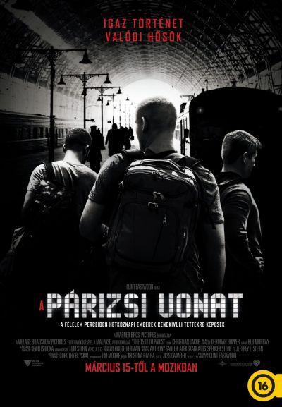 A párizsi vonat – Plakát