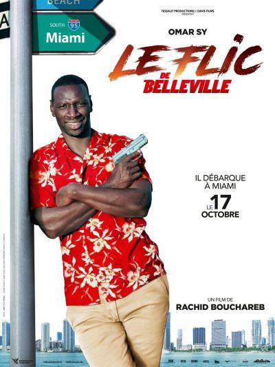 A belleville-i zsaru – Plakát