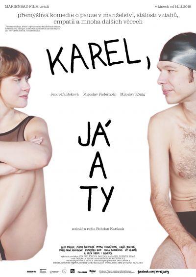 Karel, én és te – Plakát
