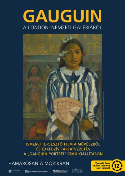 Gauguin a londoni Nemzeti Galériából – Plakát