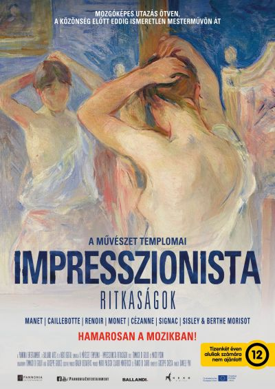 A művészet templomai: Impresszionista ritkaságok – Plakát