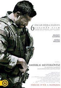 Amerikai mesterlövész – Plakát