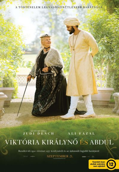 Viktória királynő és Abdul – Plakát