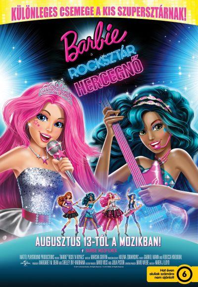 Barbie, a rocksztár hercegnő – Plakát