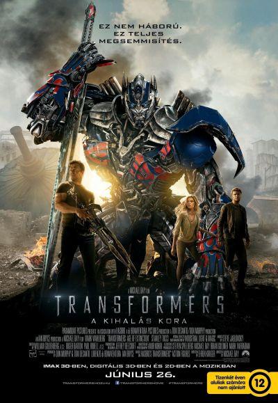 Transformers: A kihalás kora – Plakát