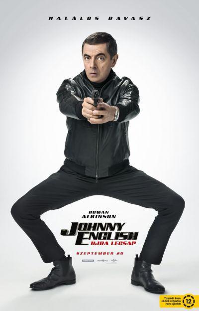 Johnny English újra lecsap – Plakát