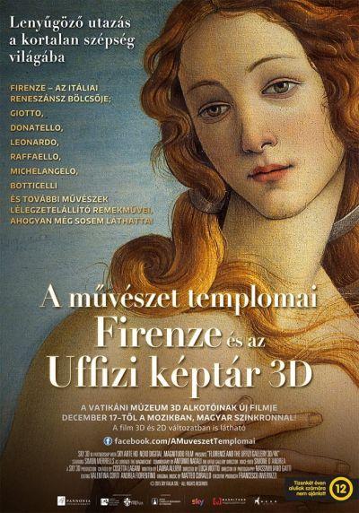A művészet templomai: Firenze és az Uffizi képtár 3D/4K – Plakát