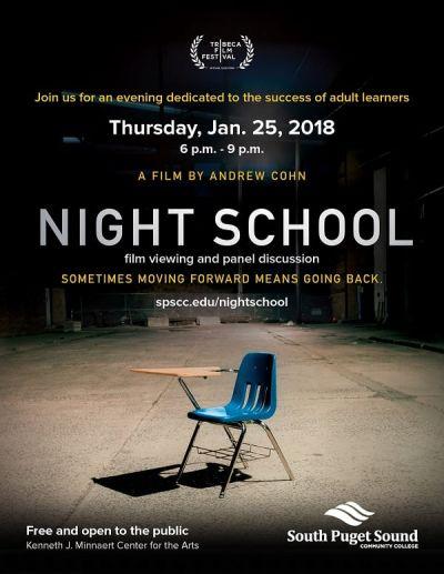Night Scool – Plakát