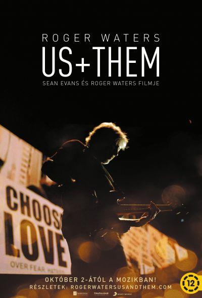 Roger Waters US + THEM – Plakát