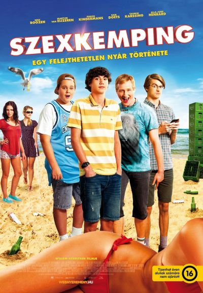Szexkemping – Plakát