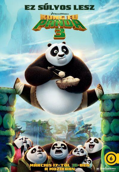 Kung Fu Panda 3 – Plakát