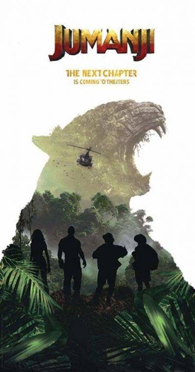 Jumanji 2 – Plakát
