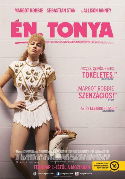 Én, Tonya – Plakát