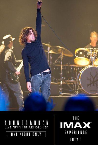 Soundgarden Live form the Artists Den – Plakát