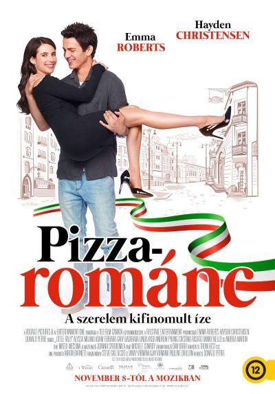 Pizzarománc – Plakát
