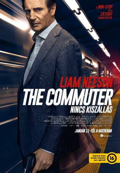 The Commuter - Nincs kiszállás – Plakát