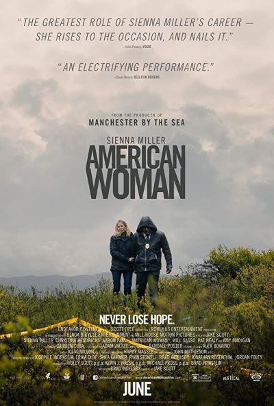 Amerikai nő – Plakát