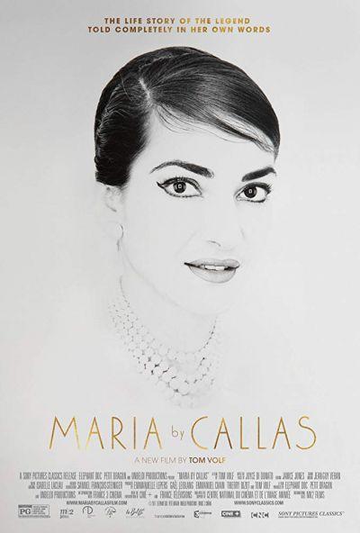 Maria by Callas – Plakát