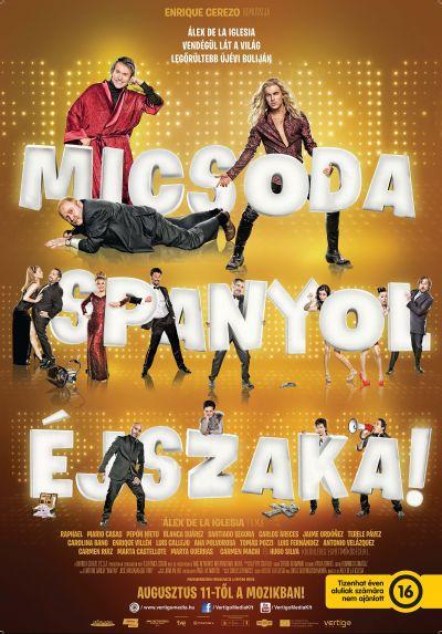 Micsoda spanyol éjszaka! – Plakát