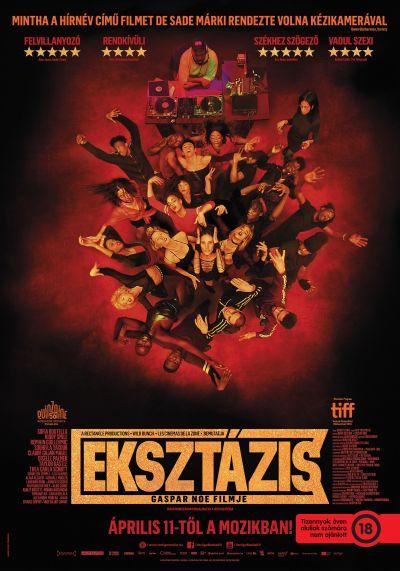 Eksztázis – Plakát