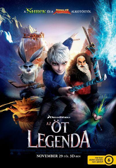 Az öt legenda – Plakát