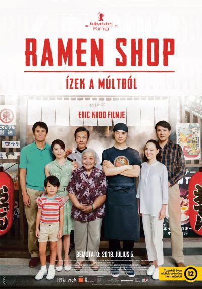 Ramen shop – Ízek a múltból – Plakát