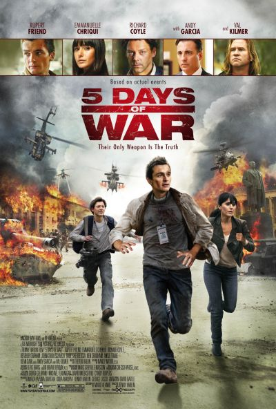 5 nap háború – Plakát