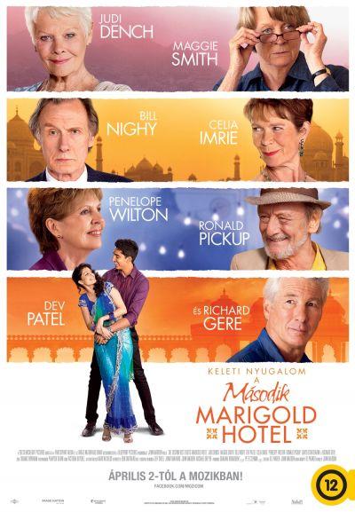 Keleti nyugalom - A második Marigold Hotel – Plakát