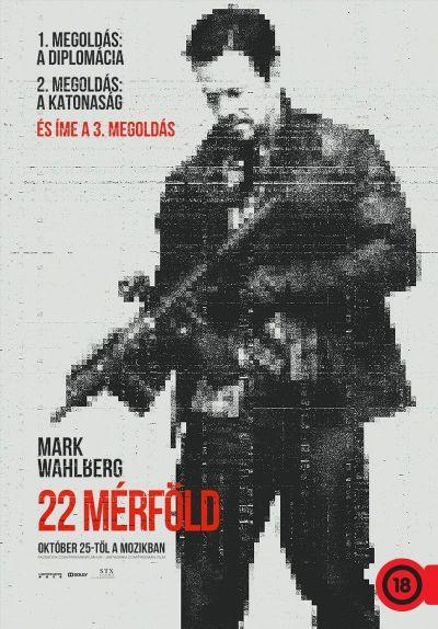 22 mérföld – Plakát