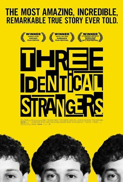 Három egyforma idegen – Plakát