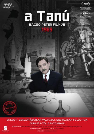 A tanú – Eredeti, cenzúrázatlan változat – Plakát