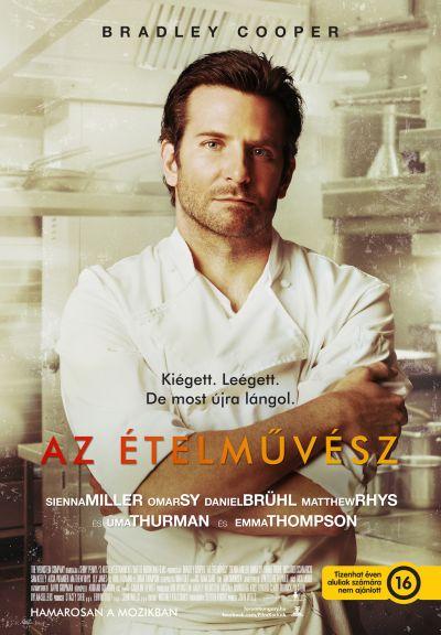 Az ételművész – Plakát