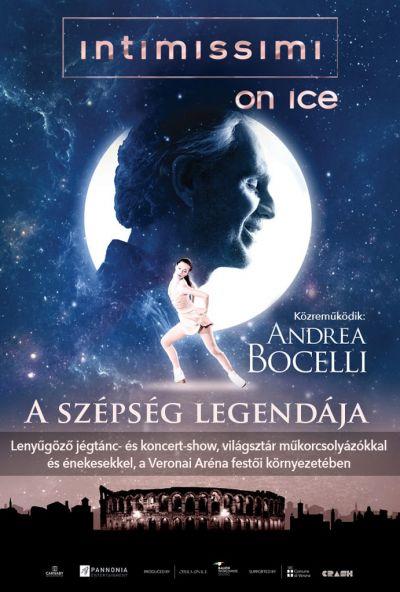 Intimissimi on Ice Andrea Bocellivel - A szépség legendája – Plakát