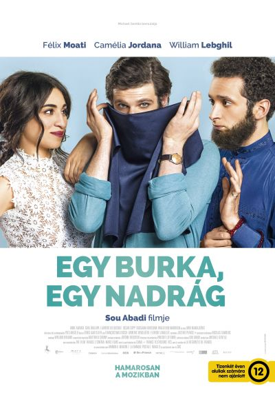 Egy burka, egy nadrág – Plakát