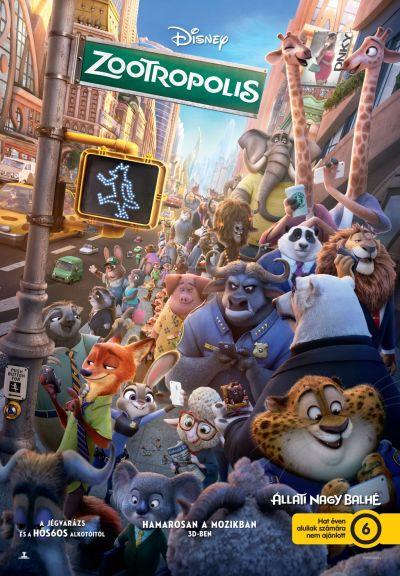 Zootropolis - Állati nagy balhé – Plakát