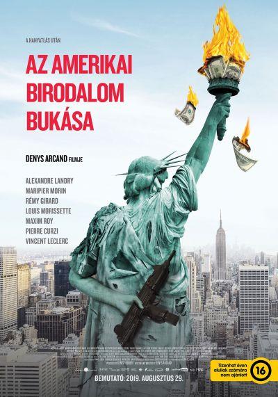 Az amerikai birodalom bukása – Plakát