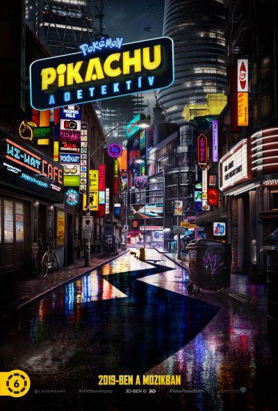 Pokémon - Pikachu, a detektív – Plakát