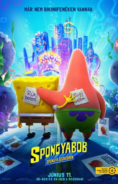 SpongyaBob: Spongya szökésben – Plakát