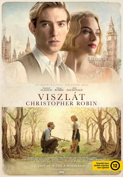 Viszlát, Christopher Robin – Plakát