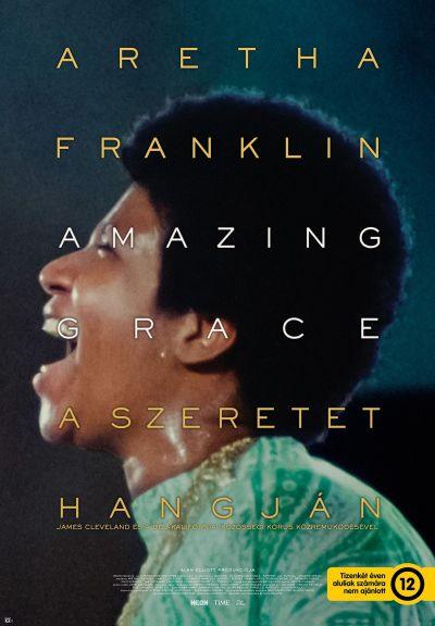 Aretha Franklin: Amazing Grace – A szeretet hangján – Plakát