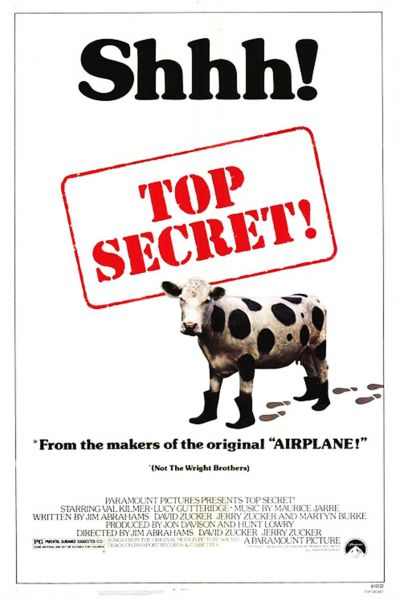 Top secret – Plakát