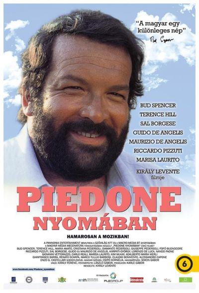 Piedone nyomában – Plakát
